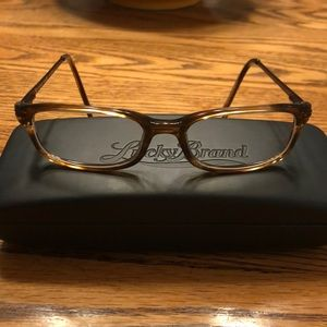 Euc Lucky Brand Skip Day eyeglass frames.